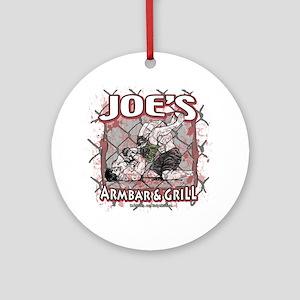 Joe's Armbar & Grill MMA Ornament (Round)