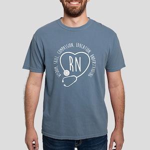 RN Wisdom Skill Compassi Mens Comfort Colors Shirt