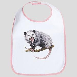 Opossum Cotton Baby Bib