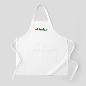 Oh Fudge BBQ Apron