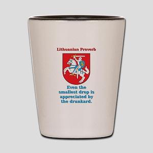 Even The Smallest Drop - Lithuanian Proverb Shot G