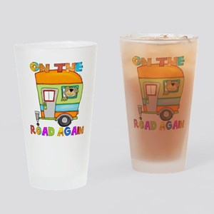 On the road again Drinking Glass