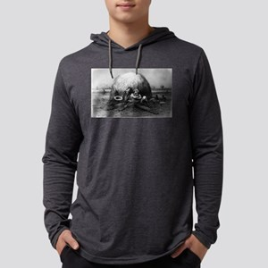 A brace of meadow larks - 1879 Mens Hooded Shirt
