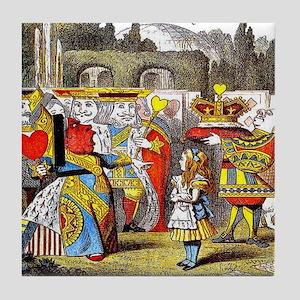 """The Queen's Croquet-Ground"" #1a - Tile Coaster"