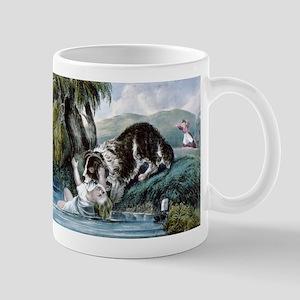 A friend in need - 1856 11 oz Ceramic Mug