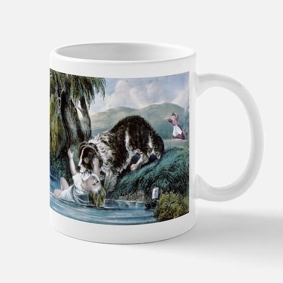 A friend in need - 1856 Mug
