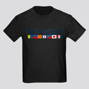 Key West -Nautical Flags. T-Shirt