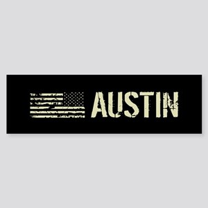 Black Flag: Austin Sticker (Bumper)