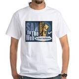 Sax on the web Mens Classic White T-Shirts