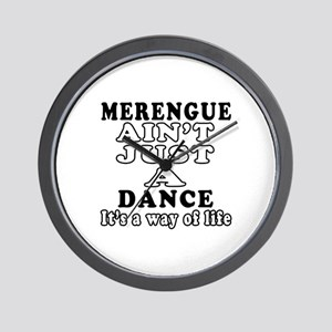 Merengue Not Just A Dance Wall Clock