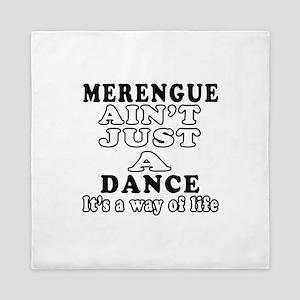 Merengue Not Just A Dance Queen Duvet