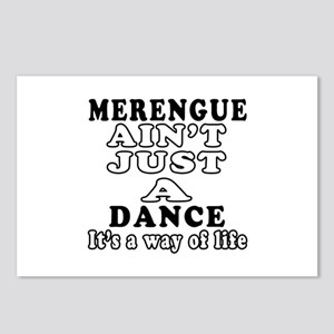 Merengue Not Just A Dance Postcards (Package of 8)