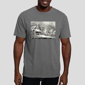 A snowy morning - 1864 Mens Comfort Colors Shirt