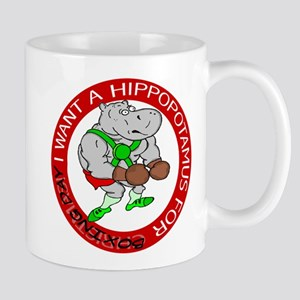 Hippo for Boxing Day Mug