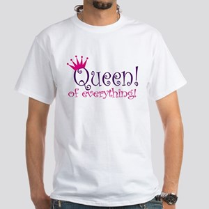 Queen of Everthing! Women's Pink T-Shirt