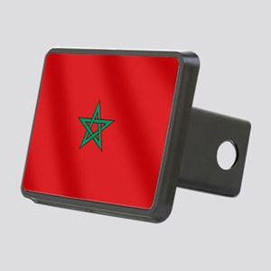 Flag of Morocco Rectangular Hitch Cover