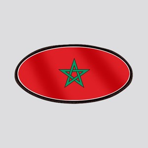 Flag of Morocco Patches