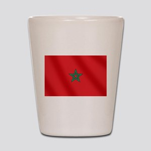 Flag of Morocco Shot Glass