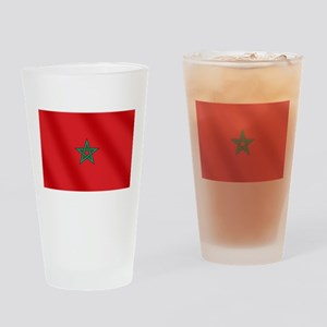 Flag of Morocco Drinking Glass