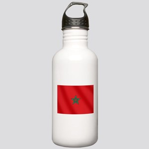 Flag of Morocco Stainless Water Bottle 1.0L