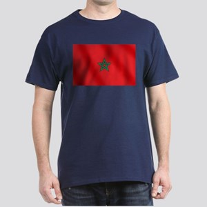 Flag of Morocco Dark T-Shirt