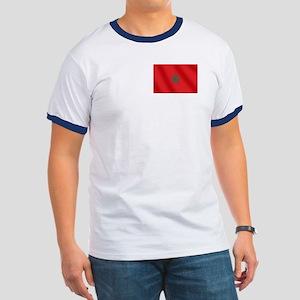 Flag of Morocco Ringer T