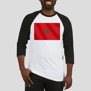 Flag of Morocco Baseball Jersey
