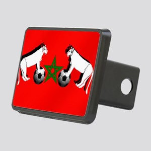 Moroccan Football Lions Rectangular Hitch Cover