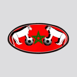 Moroccan Football Lions Patches