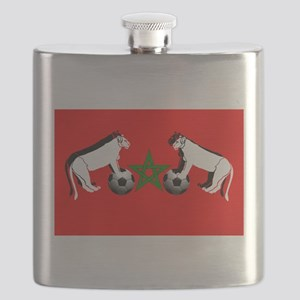 Moroccan Football Lions Flask
