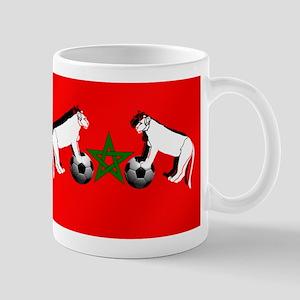 Moroccan Football Lions Mug