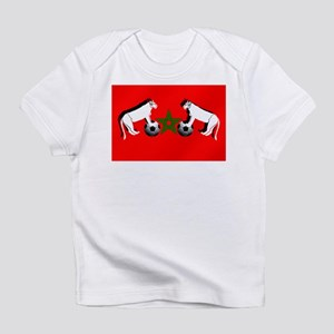 Moroccan Football Lions Infant T-Shirt