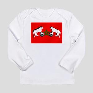 Moroccan Football Lions Long Sleeve Infant T-Shirt