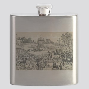 At the fair grounds - 1890 Flask