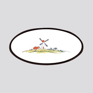 Scenic Dutch Windmill Patches