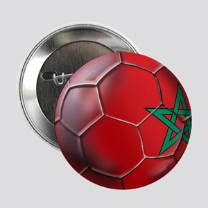 "Moroccan Soccer Ball 2.25"" Button"