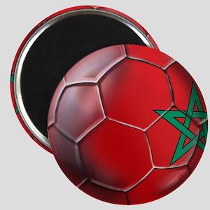 Moroccan Soccer Ball Magnet