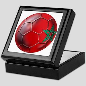 Moroccan Soccer Ball Keepsake Box