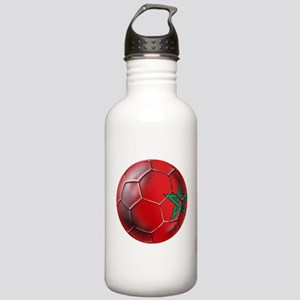 Moroccan Soccer Ball Stainless Water Bottle 1.0L