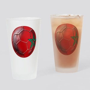 Moroccan Soccer Ball Drinking Glass
