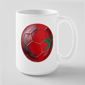 Moroccan Soccer Ball Large Mug