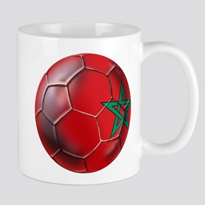 Moroccan Soccer Ball Mug