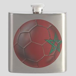 Moroccan Soccer Ball Flask