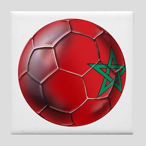 Moroccan Soccer Ball Tile Coaster