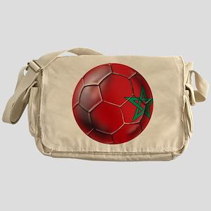 Moroccan Soccer Ball Messenger Bag
