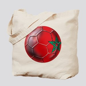 Moroccan Soccer Ball Tote Bag
