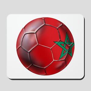 Moroccan Soccer Ball Mousepad