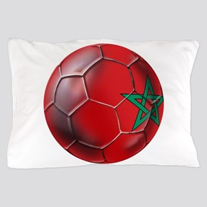 Moroccan Soccer Ball Pillow Case