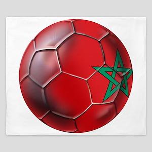 Moroccan Soccer Ball King Duvet