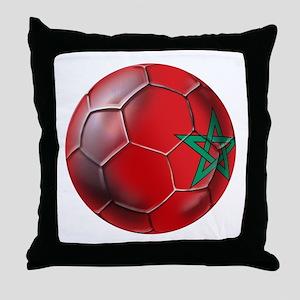 Moroccan Soccer Ball Throw Pillow